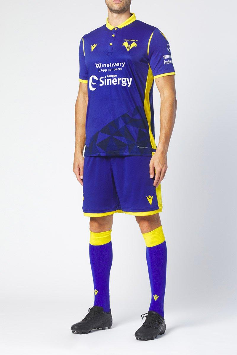 M Maglia Gara Third M//C Uomo Grigio Chiaro Hellas Verona FC 2020//2021