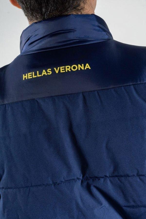 gilet smanicato full zip hellas-verona