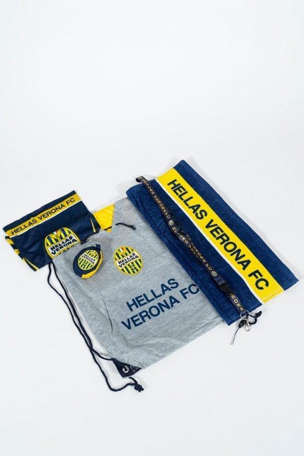 Kit tifoso gialloblu Hellas Verona