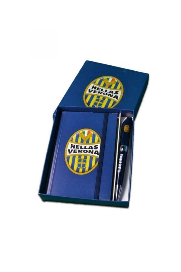 Penna a sfera e quadretto Hellas Verona
