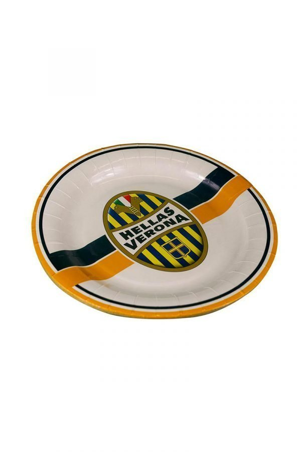 Set 10 piatti di carta Hellas Verona