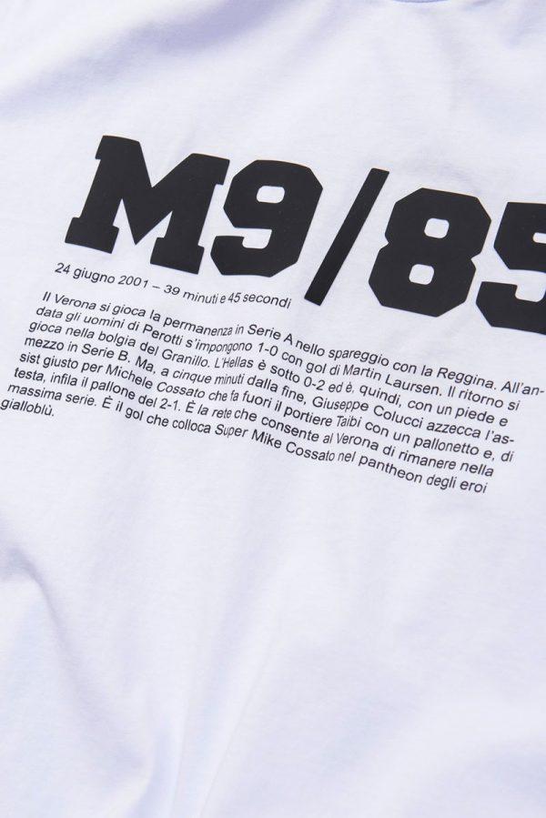 tshirt m9-85 39 minuti e 45 secondi hellas verona