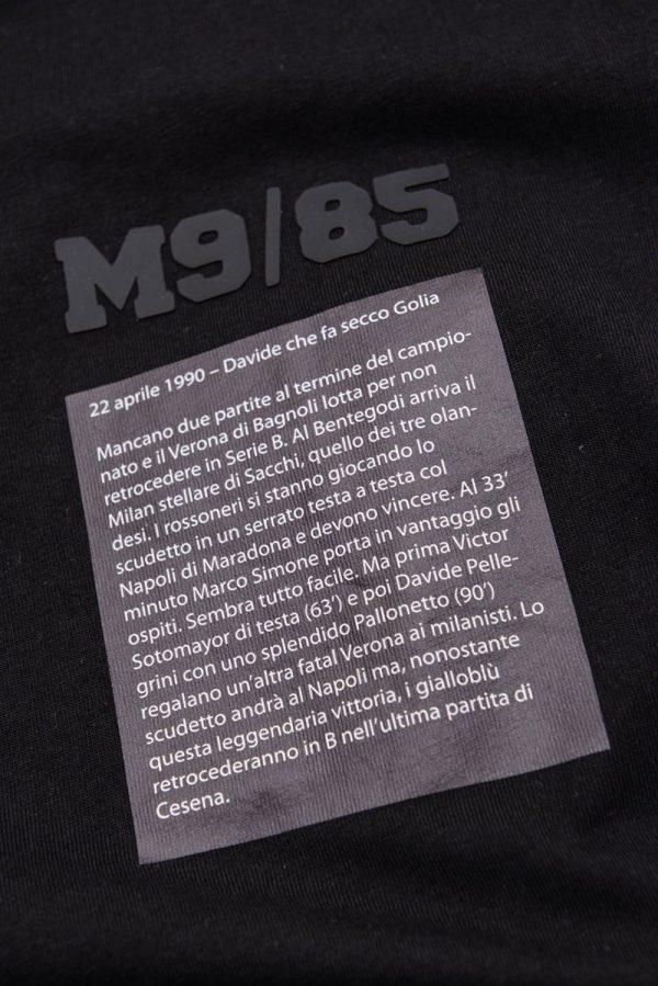 tshirt m9-85 momenti magici hellas verona