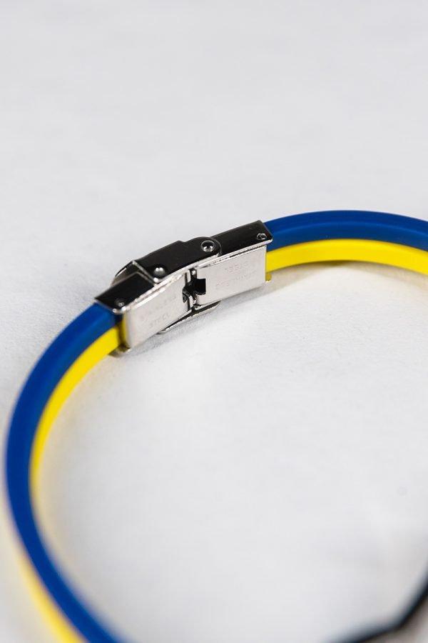 Bracciale in silicone con scritta Hellas Verona Fc
